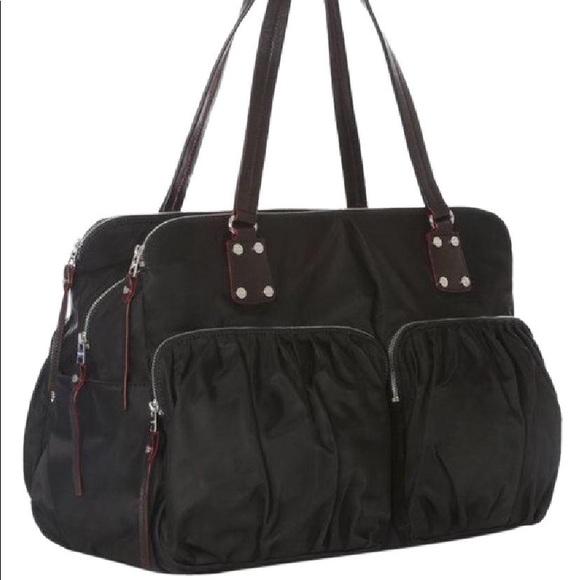 cb6eebe966 MZ Wallace Bags | Greenwich Overnight Bag Black Bedford | Poshmark